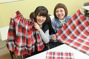 【再提出】FC科 春らしいギャザースカートを作ろう
